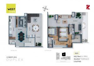 Cobertura Duplex 1001