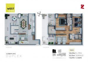 Cobertura Duplex 1003