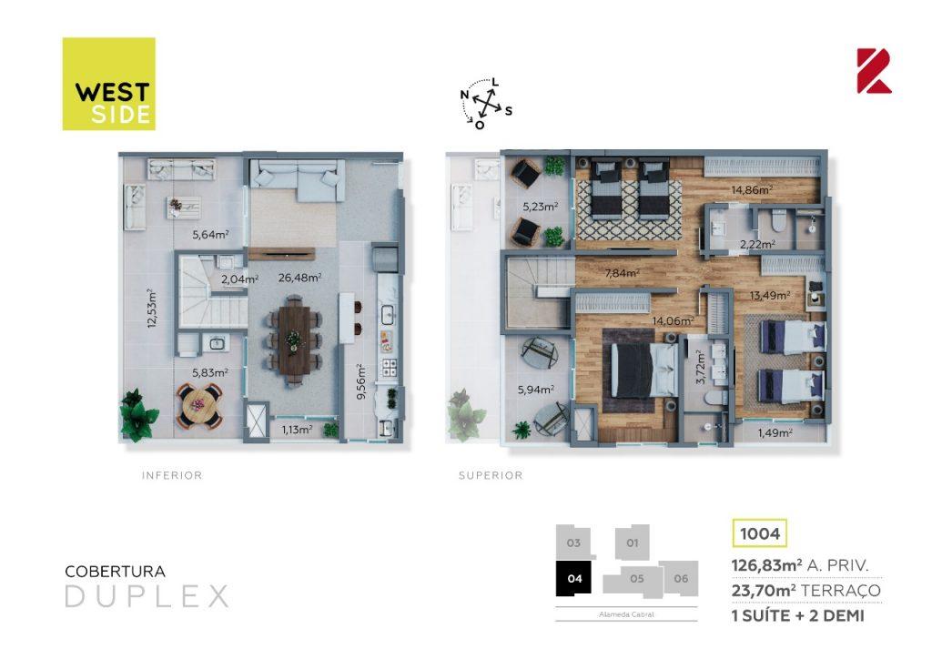 Cobertura Duplex 1004