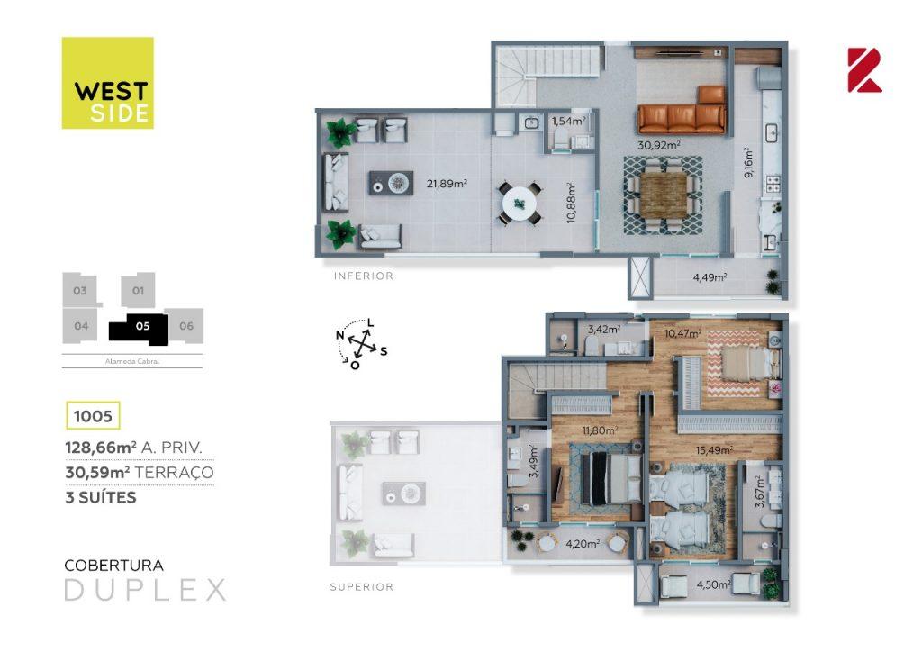 Cobertura Duplex 1005