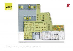Garagem, Lazer, Apartamentos